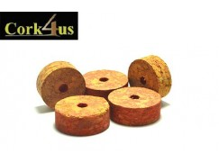 CORK RING - BURL RED